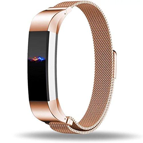 Fitbit-Alta-Correa-Reemplazo-ZRO-Cierre-totalmente-magntico-Cierre-Mesh-Loop-Milanese-Acero-inoxidable-Correa-de-reloj-Para-Fitbit-Alta-Reloj-Inteligente