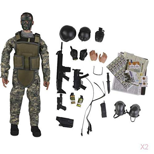 Non brand Soldato Combat Soldier Special Forces Soldier Model Sniper