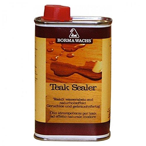 Ellas-Wohnwelt Teaköl Holzschutz Versiegelung Borma Teak Oil Sealer 250 ml Öl für Teakholz