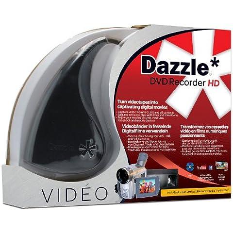 Corel Dazzle DVD Recorder HD - Adaptador De Captura De Vídeo USB 2.0 + Software De Edición De Vídeo Pinnacle