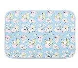 Baby-Home Reise-Urin-Auflage Abdeckung Pad ändern 80*120cm, Kaninchen