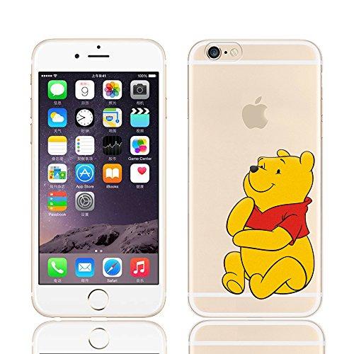 Ronney's Disney Weiche Handyhülle Winnie Puuh und seine Freunde, transparent, TPU-Material, für Apple iPhone  5/5S / SE/ 6 / 6S/6+/6+S, plastik, Tigger, APPLE IPHONE 6/6S Winnie