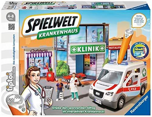 Ravensburger 00772 - Tiptoi Spielwelt Krankenhaus