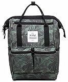 HotStyle DISA Fashion Blumen Damen Laptop Rucksack 12 Zoll (35x23x15cm) - Tropisch, Oliver