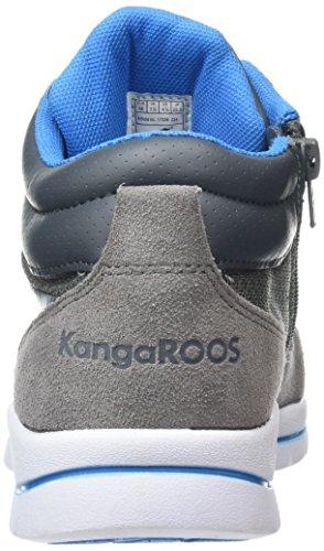 KangaROOS - Kb-3 B, Sneaker alte Bambino Grigio (Grau (mid grey/blue 224))
