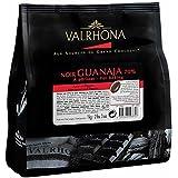 Valrhona Dark Baking Chocolate Chips 70% (Guanaja) 1 kg