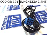 "G.M. Production 191 Evo Kit Audio-Set für Auto, mit Audio-/Videokabel In MP3 iPhone, Fiat Lancia, mit Displayanzeige ""No Source Available"", ohne Blue&Me, Autoradio Delphi Grundig und Bosh mit Schlüssel zum Anschalten des Autoradios, bitte Fotos und Angaben zur Kompatibilität beachten"