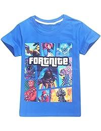Memoryee Cotton Manga Corta Fortnite Inspired Kids Gaming Camiseta PS4 Gaming Children's Wonderful Gifts