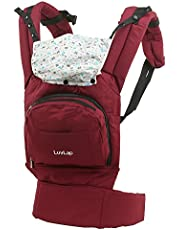 Luvlap Elite Baby Carrier (Red)
