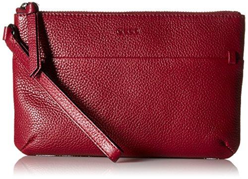Ecco SP, Sacs Menotte Femme, Rouge (Rot (90558), 21x14x2 cm