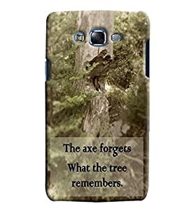 Findstuff Printed Back Cover For Samsung Galaxy J7