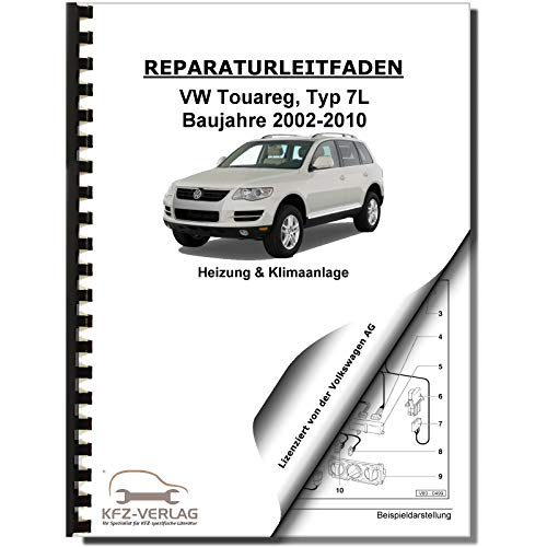 VW Touareg, Typ 7L (02-10) Heizung, Lüftung, Klimaanlage - Reparaturanleitung