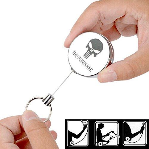 vagany-resilienza-corda-retrattile-retrattile-catena-chiave-anello-anti-allarme-perso-anti-perso-key