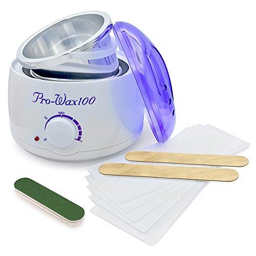 Salon Wachswärmer für Haarentfernung 500ml,Betterhill Warmwachsgerät Wachserhitzer Wachsgerät für alle Sorten Wachs