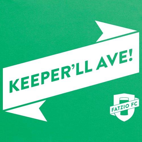 Fatzio FC Keeper'll Ave! T-Shirt, Herren Keltisch-Grn