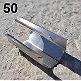 Clips inox ronds par sachet de 50 ClipsI25L50_0