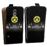 DeinDesign Samsung Galaxy S5 Tasche Hülle Flip Case Borussia Dortmund BVB Stadion