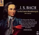Les 6 [Six] Concerts Brandebourgeois BWV 1046-1051 / Johann Sebastian Bach | Bach, Johann Sebastian (1685-1750)