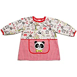 Dyneke Babi elástico rojo Panda (Talla 2)