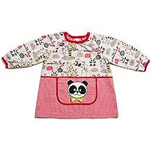 Dyneke Babi elástico rojo Panda (personalización opcional gratuita con nombre ...