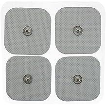 20 Ben Belle almohadillas electrodos de alto rendimiento y larga duración compatibles con (Snap 40x40mm), conexión de botón 3,5mm Para TENS Machine