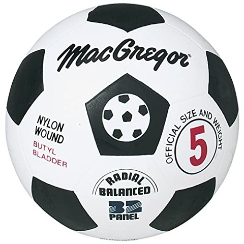 Macgregor Rubber Soccer Ball (Size 3) by