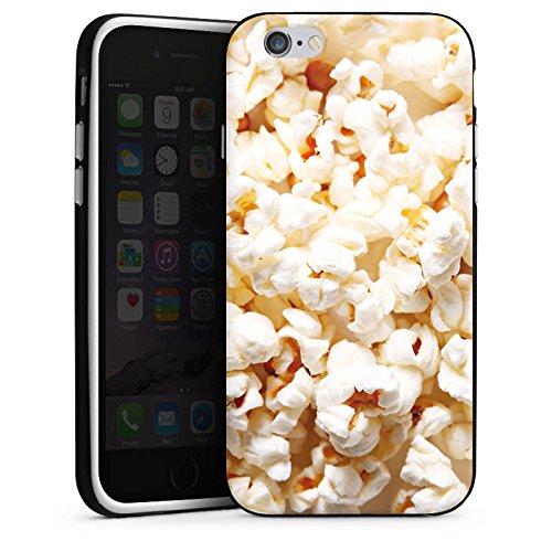 Apple iPhone X Silikon Hülle Case Schutzhülle Popcorn Kino Poppin Corn Silikon Case schwarz / weiß