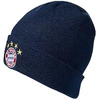 """FC Bayern München Mütze navy """"Logo"""" Woolie Strickmütze 20397"""