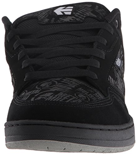Etnies Metal Mulisha Cartel, Chaussures de Skateboard Homme Noir - Schwarz (BLACK/SKULLS/894)