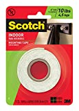 3M Heavy Duty Mounting Tape, 1-Inch by 5...