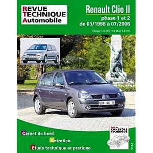 Revue Technique 118.2 Renault Clio 2 Phase 1 et 2 Diesel