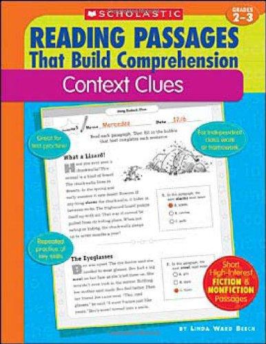 Context Clues (Reading Passages That Build Comprehension)