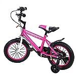 MuGuang-14-Pollici-Bicicletta-da-Bambina-Bicicletta-per-Bambino-Studio-apprendimento-Equitazione-Bici-Ragazzi-Ragazze-Bicicletta-con-stabilizzanti-con-Bell-per-3-8-Anni