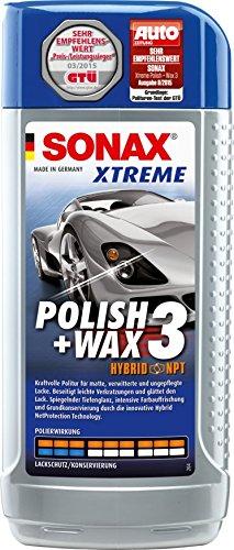 farbige politur SONAX 202200 XTREME Polish + Wax 3 Hybrid NPT, 500 ml