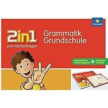 2in1 zum Nachschlagen - Grundschule: Grammatik