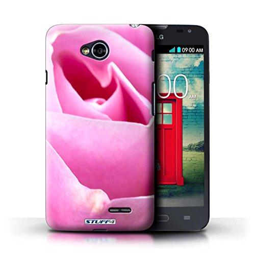 Kobalt® Imprimé Etui / Coque pour LG L70/D320 / Clair Rose conception / Série floral Fleurs Rose rose