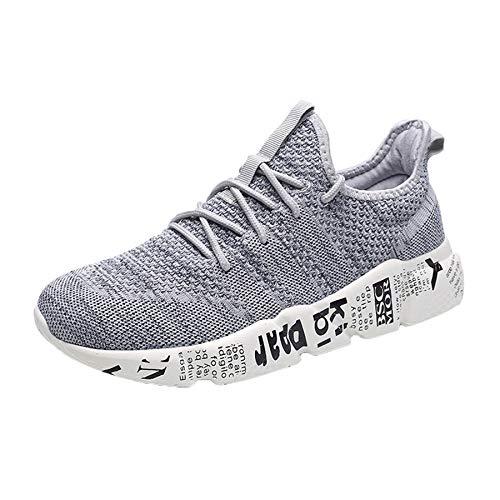 innovative design e6b31 1da5f beautyjourney Scarpe Antinfortunistiche estive Uomo Scarpe Uomo Sneakers  Scarpe da Ginnastica Uomo Scarpe da Corsa Uomo Sportive Fitness Running -  ...