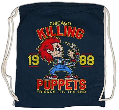 Urban Backwoods Killing Puppets Turnbeutel Sporttasche