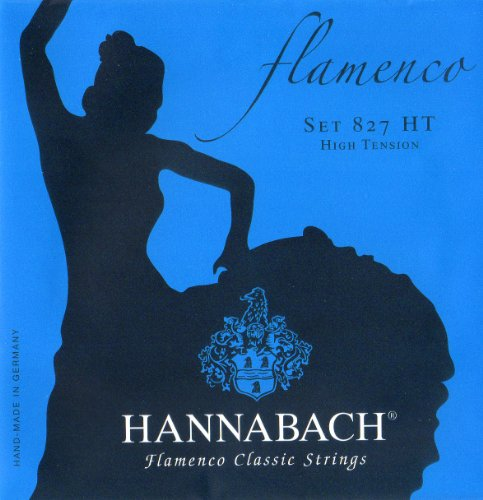 Hannabach  Klassikgitarrensaiten Serie 827 High Tension Flamenco Classic - Satz