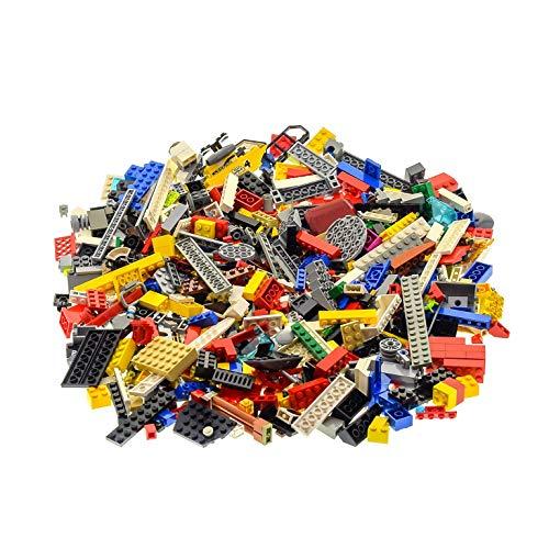 600 Teile Lego Steine bunt gemischt 0,80 kg z.B. Räder Platten Fenster etc. k3