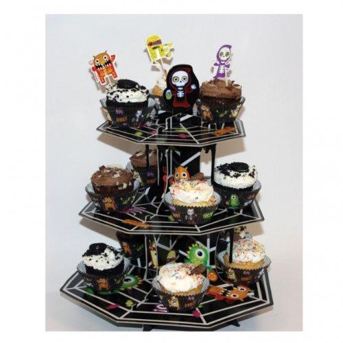 Amscan Boo-Crew-Cupcake-Etagere International, 996672