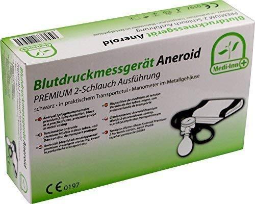 Blutdruckmessgerät Aneroid 2-Schlauch Medi-Inn Farbe: schwarz