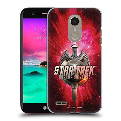 Head Case Designs Offizielle Star Trek Terran Reich Schwert Und Globus Logo Mirror Universe TNG Ruckseite Hülle für LG X4 Plus