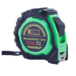 Tape Measure 5M 26ft Metre 5 Meter (16ft, Green)