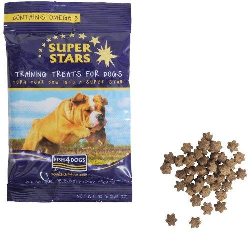 Fish4dogs Super Star Training Treats 75g