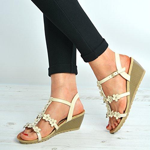 Cucu Fashion, Cinturino Alla Caviglia Da Donna Beige