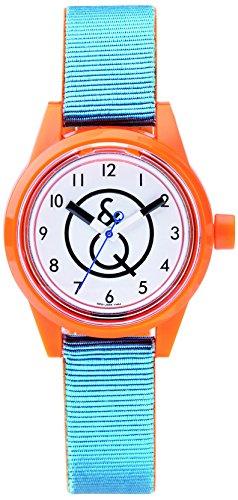 Citizen–Reloj de pulsera unisex Smile Solar analógico de cuarzo plástico RP01j005y