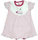 Makom Baby Body-Kleid zur Auswahl Kurzarm Größe 68-86 (68, Pink Rabbit)