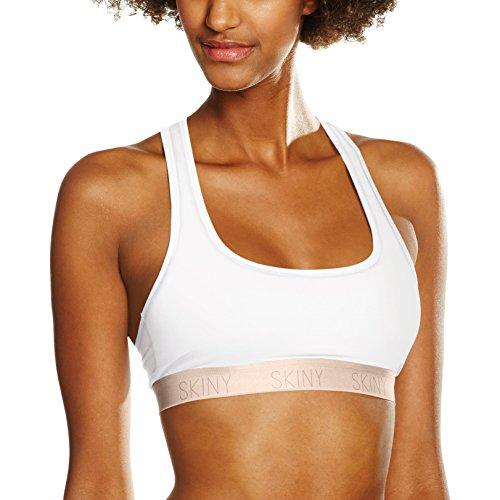 Skiny Damen Bralette Skiny Pure Women Bustier, Weiß (White 500), 44 Preisvergleich