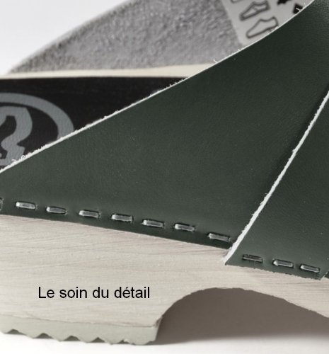 Toffeln Surgi Zoccolo 310 classico tradizionale zoccoli in legno Navy